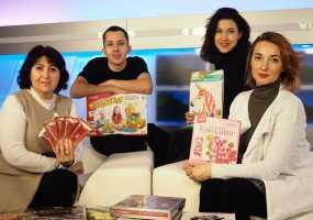Артисты ТЮЗа и кадеты пополнили мешок Деда Мороза НТР подарками для детей