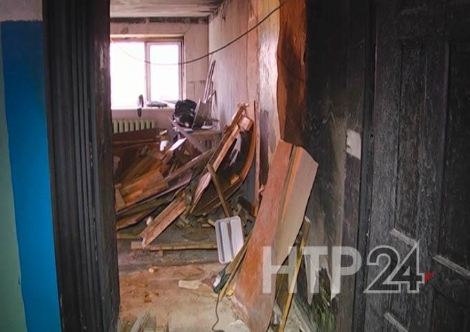 Житель Татарстана погиб в общежитии во время пожара