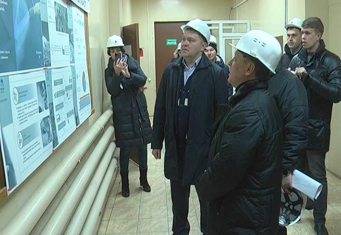 Мэр Нижнекамска посетил новые объекты ТОСЭР
