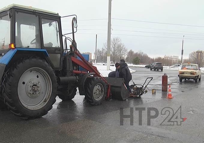 В Нижнекамске начался внеплановый ямочный ремонт дорог