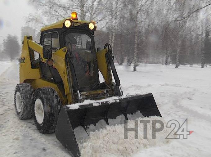 В Татарстан придет метель, на дорогах вероятно образование снежной каши