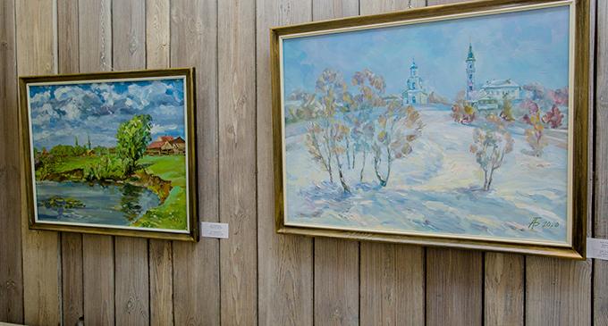 В музее Нижнекамска открылась выставка «Я люблю эту землю»