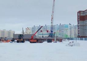 В Нижнекамске началось строительство сразу двух детских садов