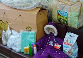 В Нижнекамске вручили первую «коробку малыша»