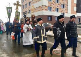 В Нижнекамске прошел крестный ход в честь Крещения