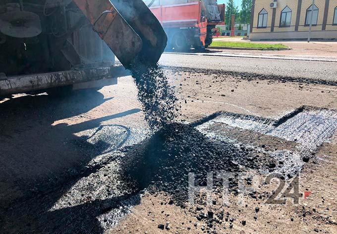 В Нижнекамске на ремонт дорог потратят 10 млн рублей