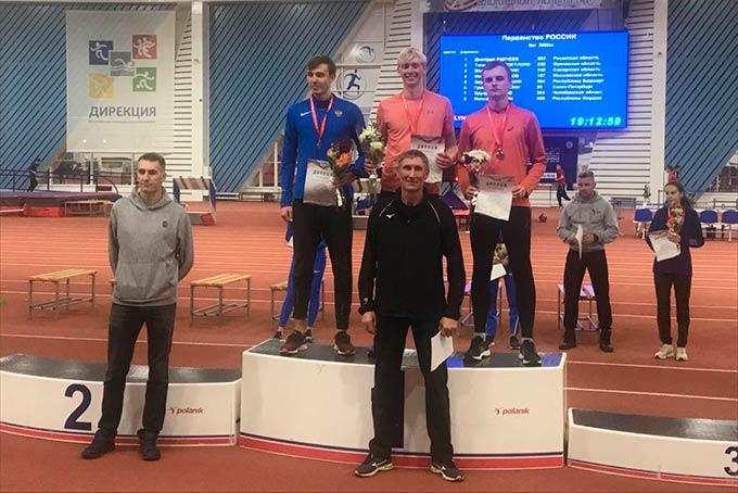 Нижнекамец Семен Манаков выиграл первенство России по лёгкой атлетике среди юниоров