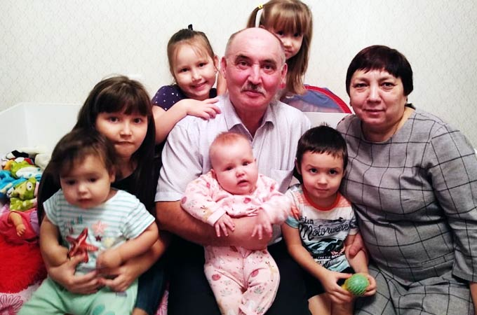 Внуки Разила Галимзяновича