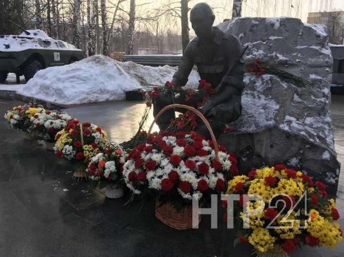 Нижнекамск отметил 31-ю годовщину вывода войск из Афганистана