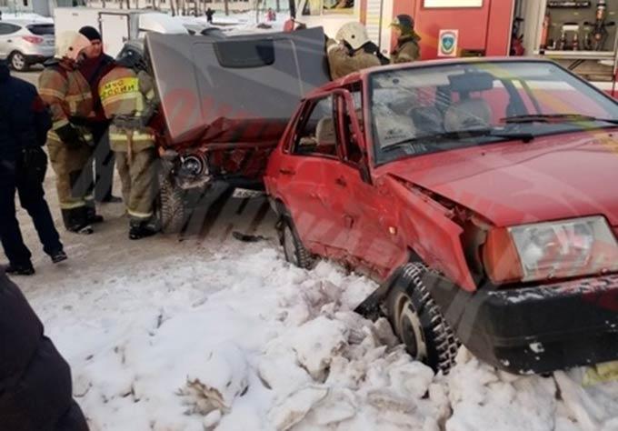 Жительница Нижнекамска пострадала в ДТП в центре города