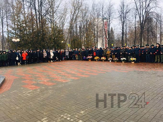 Митинг, посвященный 31-й годовщине со дня вывода советских войск из Афганистана