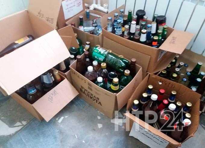 В Нижнекамске уничтожат 1,5 тысячи литров нелегального алкоголя