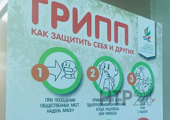 Врачи рассказали о числе заболевших ОРВИ в Нижнекамске