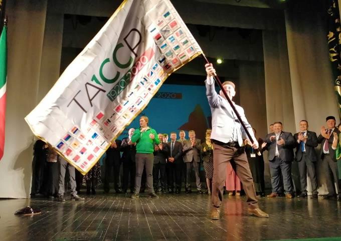 Флаг 100-летия ТАССР подняли в Оренбурге