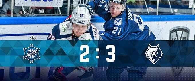 «Нефтехимик» обыграл «Адмирал» в своём заключительном матче регулярного чемпионата КХЛ