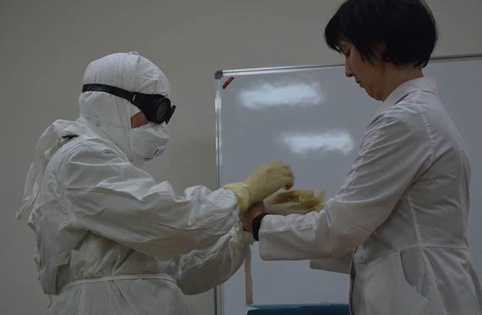 Нижнекамских врачей обучили работать с пациентами, у которых есть подозрение на коронавирус