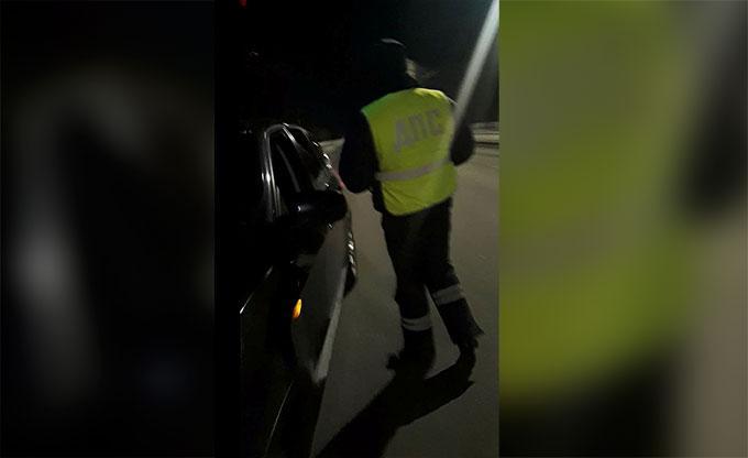 Нижнекамца на BMW арестовали на 24 часа за отказ снять тонировку