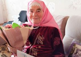 Нижнекамская долгожительница отметила 95-летний юбилей