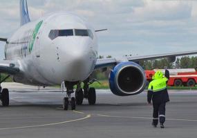 Из-за сильного ветра самолет не смог приземлиться в Татарстане