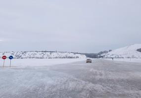 Обе ледовые переправы через Каму снова работают