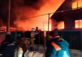 В Татарстане школьник спас своего соседа из огня