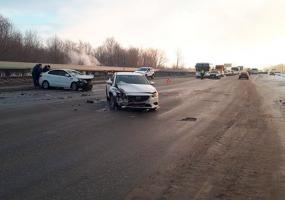 Ремень безопасности спас нижнекамку от травм в автоаварии