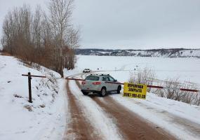 Ледовые переправы в Нижнекамском районе закрыты до следующего сезона
