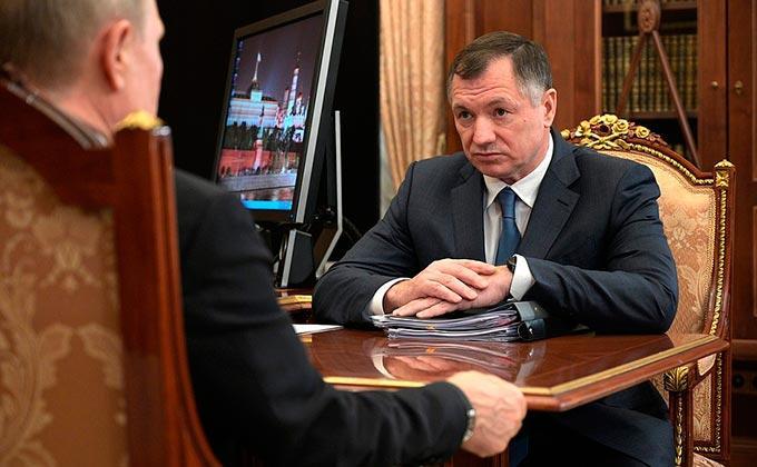 Вице-премьер Хуснуллин доложил президенту России о работе штаба по реализации нацпроектов
