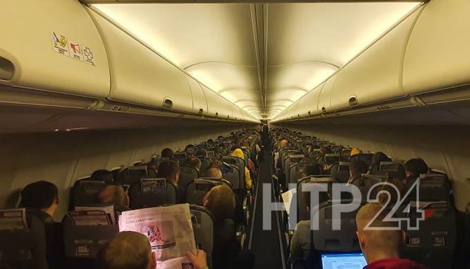 Самолёт совершил вынужденную посадку в Казани из-за пассажира