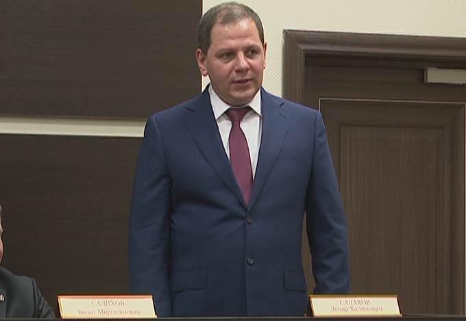 В Нижнекамске представили нового председателя городского суда