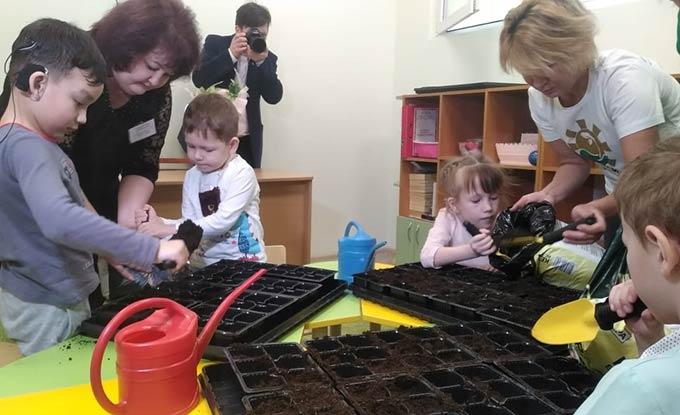 В Нижнекамске стартовал проект, направленный на экологическое воспитание дошкольников