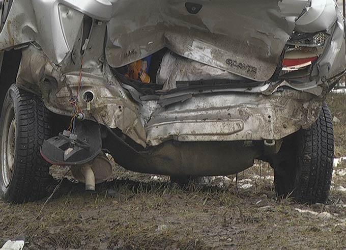 В Нижнекамске из-за несоблюдения дистанции на дороге в ДТП пострадал человек