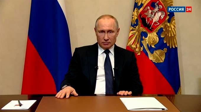 Владимир Путин: следующая неделя будет нерабочей