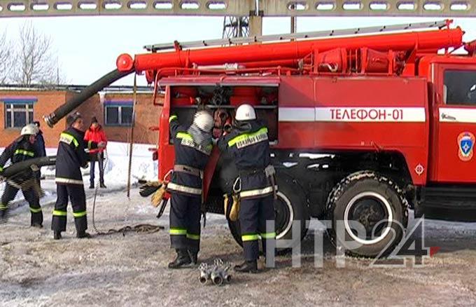 На насосной станции в Нижнекамске ранним утром произошёл пожар