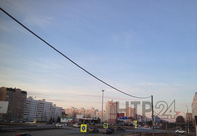 В пятницу в Нижнекамске сохранится тёплая погода