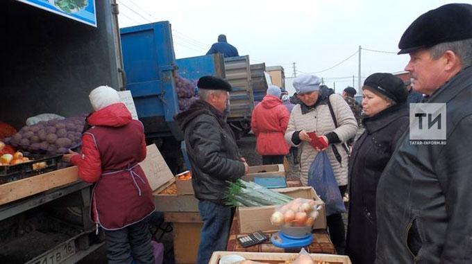 В Татарстане отменили субботние ярмарки
