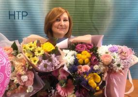 Руководителя медиахолдинга НТР Наталью Реджеп-Алиеву поздравили с юбилеем