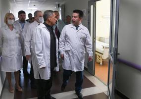 Глава РТ проверяет больницы на обеспеченность койко-местами