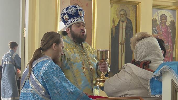 Православные верующие отметили Благовещение Пресвятой Богородицы