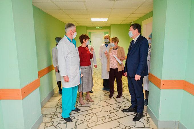 Нижнекамский госпиталь резерва посетила проверка из Казани