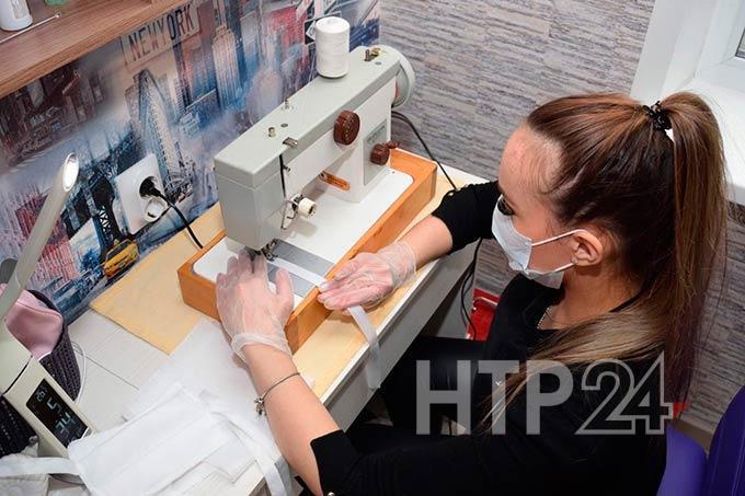 Нижнекамский арт-кластер «Рубаха» начал шить маски