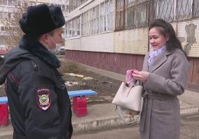 В Нижнекамске полицейские проверяют соблюдение режима самоизоляции