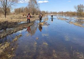 Под Нижнекамском поисковики обнаружили вещи и лодку пропавших рыбаков