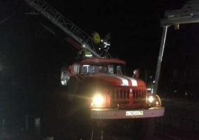 На пожаре в Татарстане спасли 31 человека