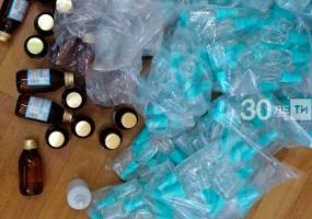 В Нижнекамске задержали продавца самодельного антисептика