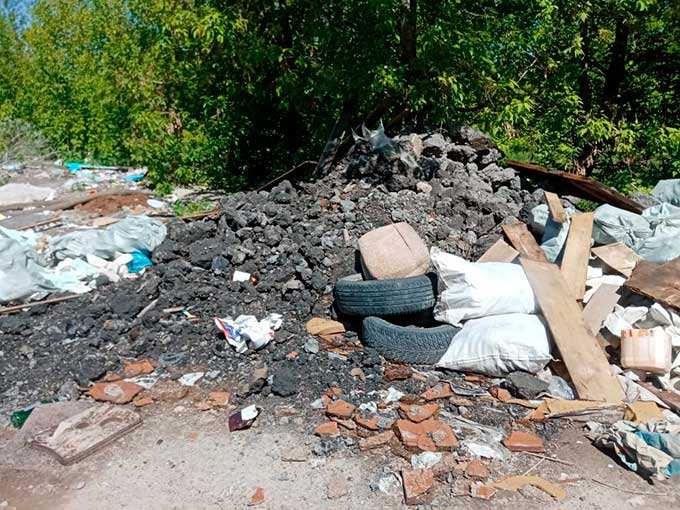 В Казани нашли свалку в 1 гектар
