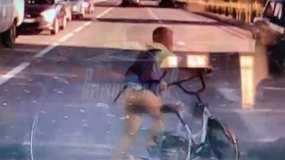Нижнекамка обратилась к родителям «опасного» велосипедиста