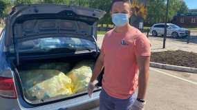 Нижнекамец спасает город от пластика