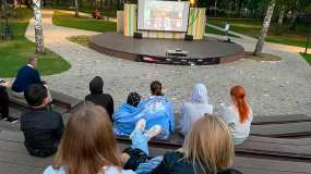 Фестиваль короткометражного кино под открытым небом прошёл в Нижнекамске